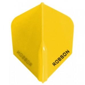 PLUMA ROBSON STD SMALL AMARILLA