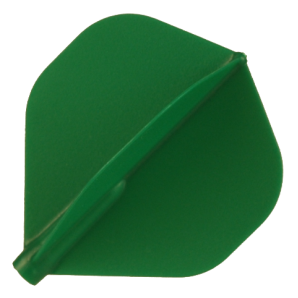 PLUMAS FIT FLIGHT SHAPE VERDE 6 UNIDADES