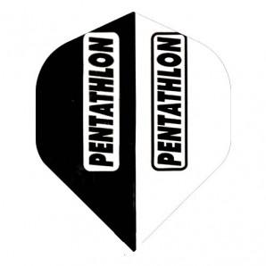 PLUMA PENTATHLON STANDARD BLACK & WHITE