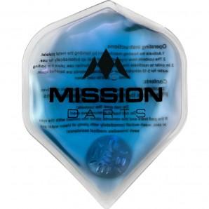 CALENTADOR DE MANO MISSION FLUX AZUL