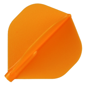 PLUMAS FIT FLIGHT SHAPE NARANJA 6 UNIDADES